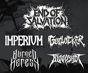 Metal Night - End of Salvation, Gutlocker, Imperium + More @ The Fiery Bird Live Music Venue