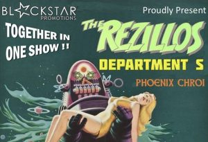 The Rezillos, Department S, Phoenix Chroi @ The Fiery Bird Live Music Venue