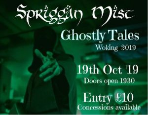Ghostly Tales 2019 @ The Fiery Bird Live Music Venue