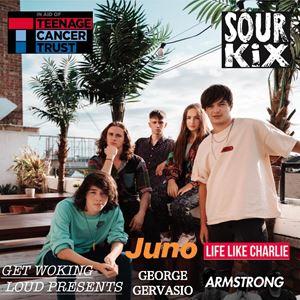 Get Woking Loud with Sour Kix @ The Fiery Bird Live Music Venue